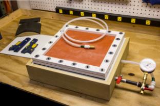 Dual Production Kydex Vacuum Press Membrane W Surge Tank